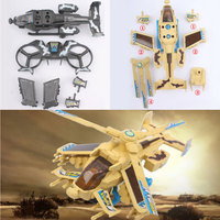 Creative Combat Aircrafts 1:24 Education Children Toys Airplane Model Cultivation Kids Gifts