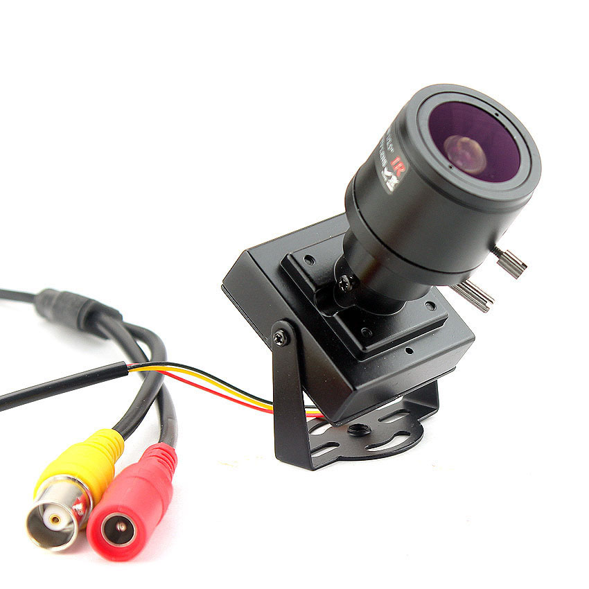 Image 5 - 700TVL varifocal lens mini camera 700TVL Adjustable Lens+RCA Adapter For Security Surveillance CCTV Camera Car OvertakingSurveillance Cameras   -