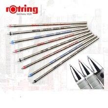 Rotring recambio de bolígrafos multifunción, clásico, alemán, original, Azul, Negro, Rojo, 5 unidades/lote