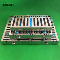 Dental 5 & 10 & 20 Instrumenten Autoclaaf Sterilisatie Cassette Tray Rekken Koop