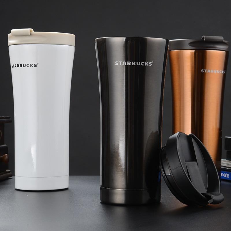 Acier Grade 304 Thermos Inoxydable Tasse Bouteille Starbucks En WDE2Y9beHI