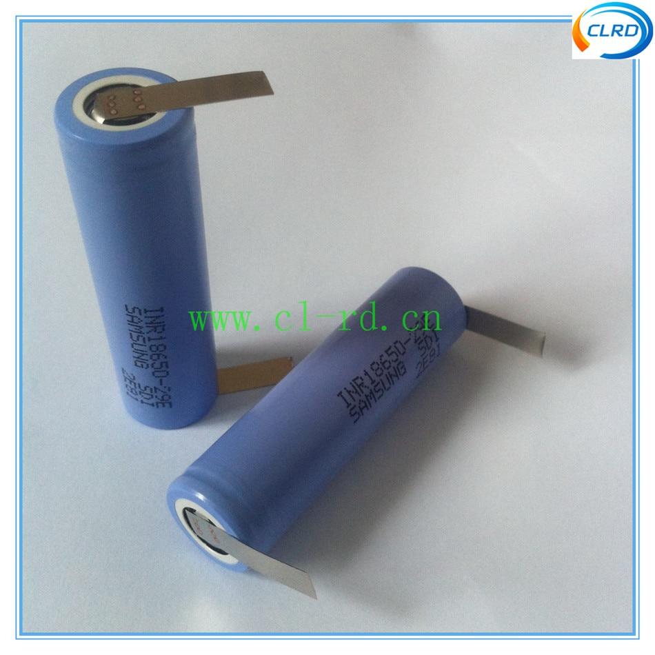 Baterias Recarregáveis 3 pçs/lote inr18650-29e 2900 mah Tipo : Li-ion