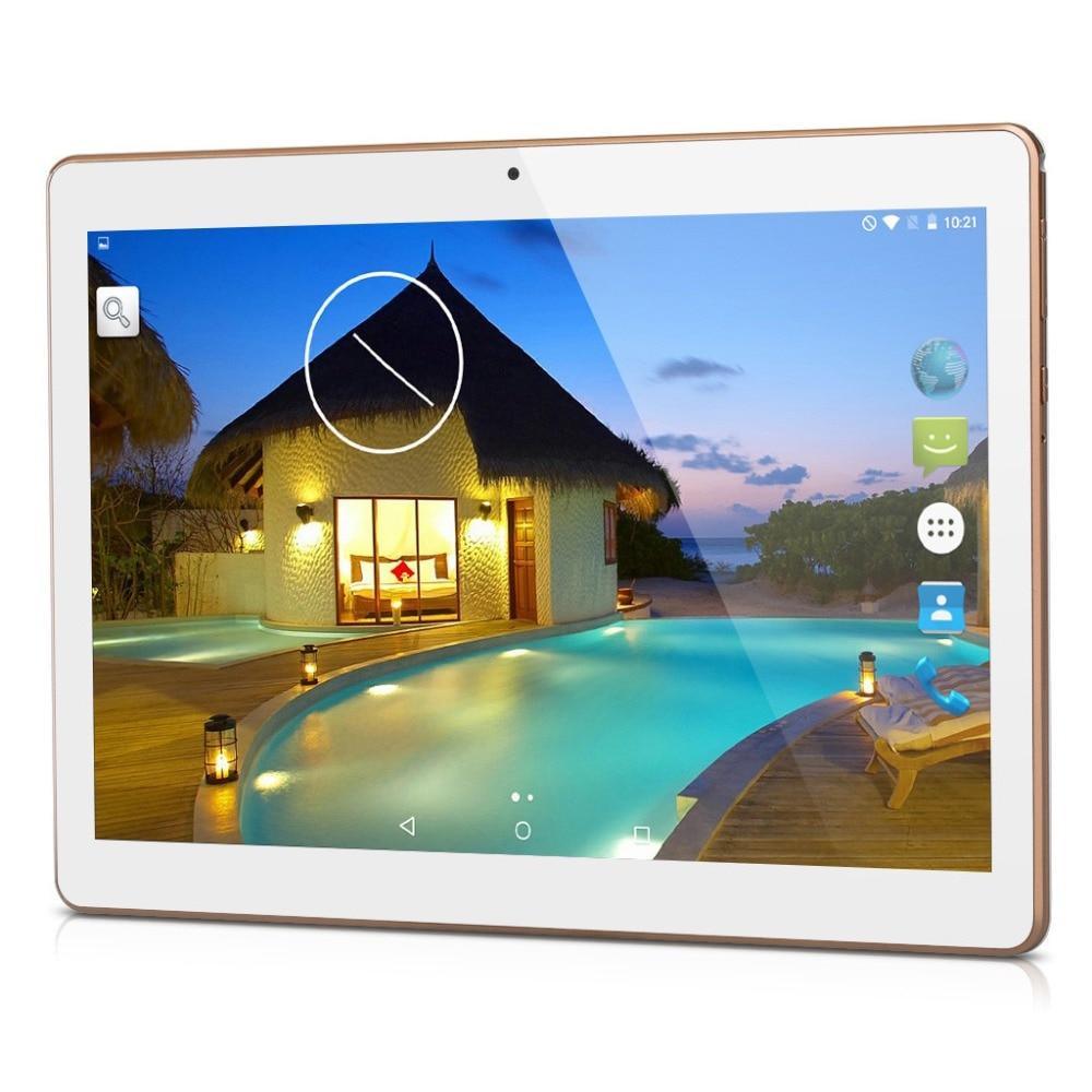 """Prix pour Nouveau 10 """"Android 5.1 Tablet PC Phablet Tab Pad Quad Core 1 GB RAM 16 GB ROM 10 Pouce 1280x800 IPS Écran 3G Appel Téléphonique Double Carte SIM"""