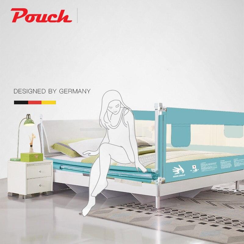 Pare-chocs de lit de bébé de poche pour des lits de taille différente hauteurs réglables sûres et de haute qualité pour des nourrissons