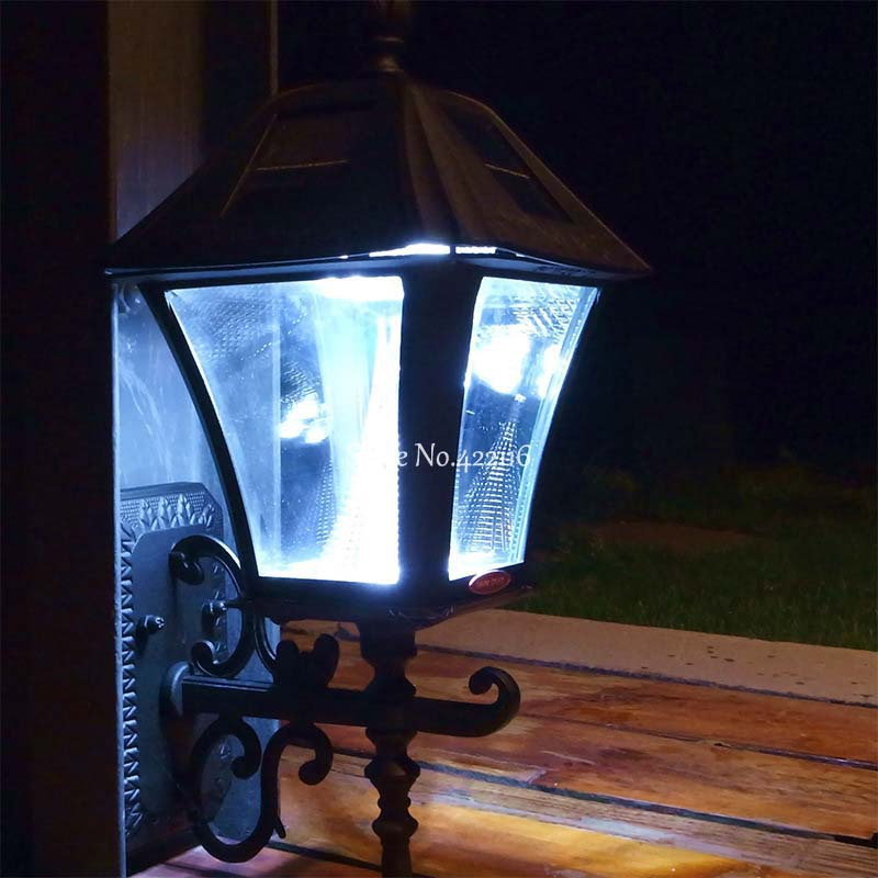 Lamparas de exterior interesting litom luz solar de led for Iluminacion led solar para jardin
