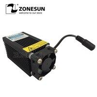 Engraving Machine 450nm 2500mW 2.5W Blue Laser Module Laser Generator With Heatsink Cooling Fan For DIY Laser Engraver Etcher