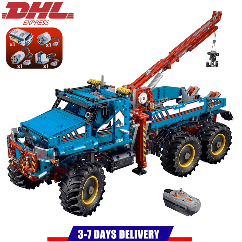 LEPIN Technic Series MOC The Ultimate All Terrain Remote Control Truck Building Blocks Sets Kits Bricks Toys Compatible Legoings