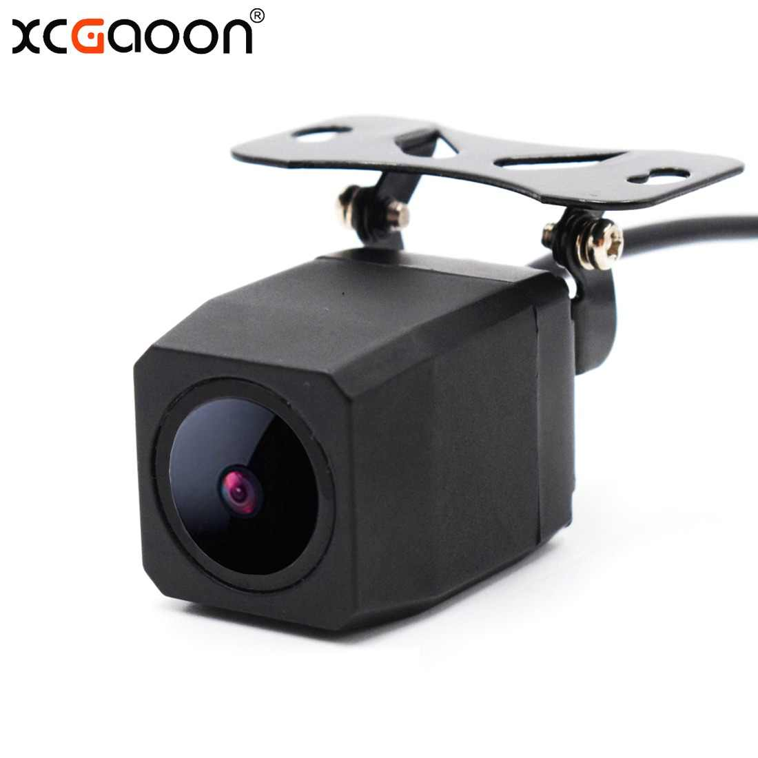 XCGaoon Metal CCD HD Car Rear View Camera Night Version Waterproof Wide Angle Backup Camera Parking Reversing Assistance