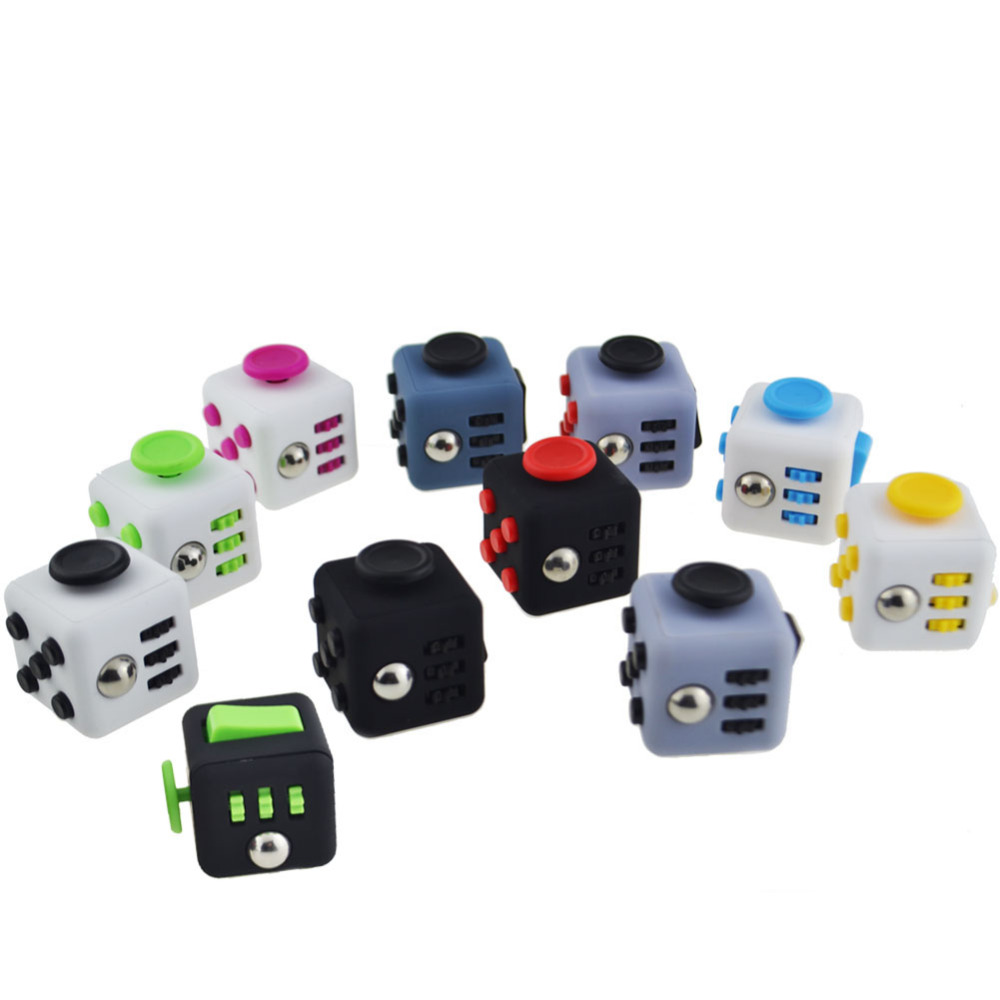 Toys To Relieve Stress Stress : ᗚ pcs desk toys stress cube for fidgeters relieve