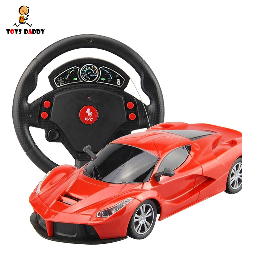 19cm 1:24 Electric RC Cars Flash Lights Machines On The Remote Control Radio Control Cars Toys For Boys Children Kids Gifts radio-controlled car