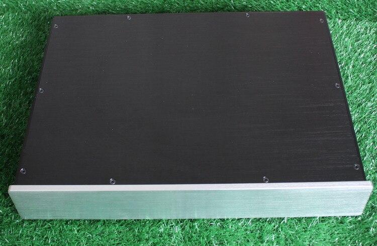 DIY amplifier case 313*70*425mm WA23 Full aluminum amplifier chassis / Tube amp / Pre-amplifier / AMP Enclosure / case / DIY box цена