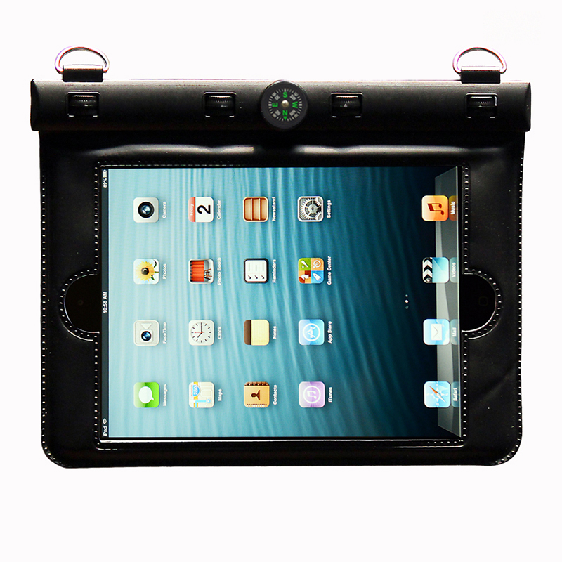 bilder für 8,1 zoll Tablet Wassergehäuse PVC tauchen taschen unterwasser-beutel Für Ipd mini 2 3 4 wasserdichte tasche für mini 4 wasserdichte tasche