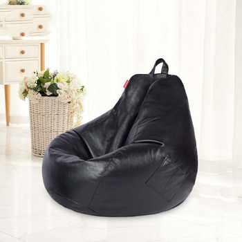 Chpermore PU Leather Bean Bag lazy sofa Comfortable Living room leisure Bean bag sofa tatami Multifunction chair Stools Ottoman