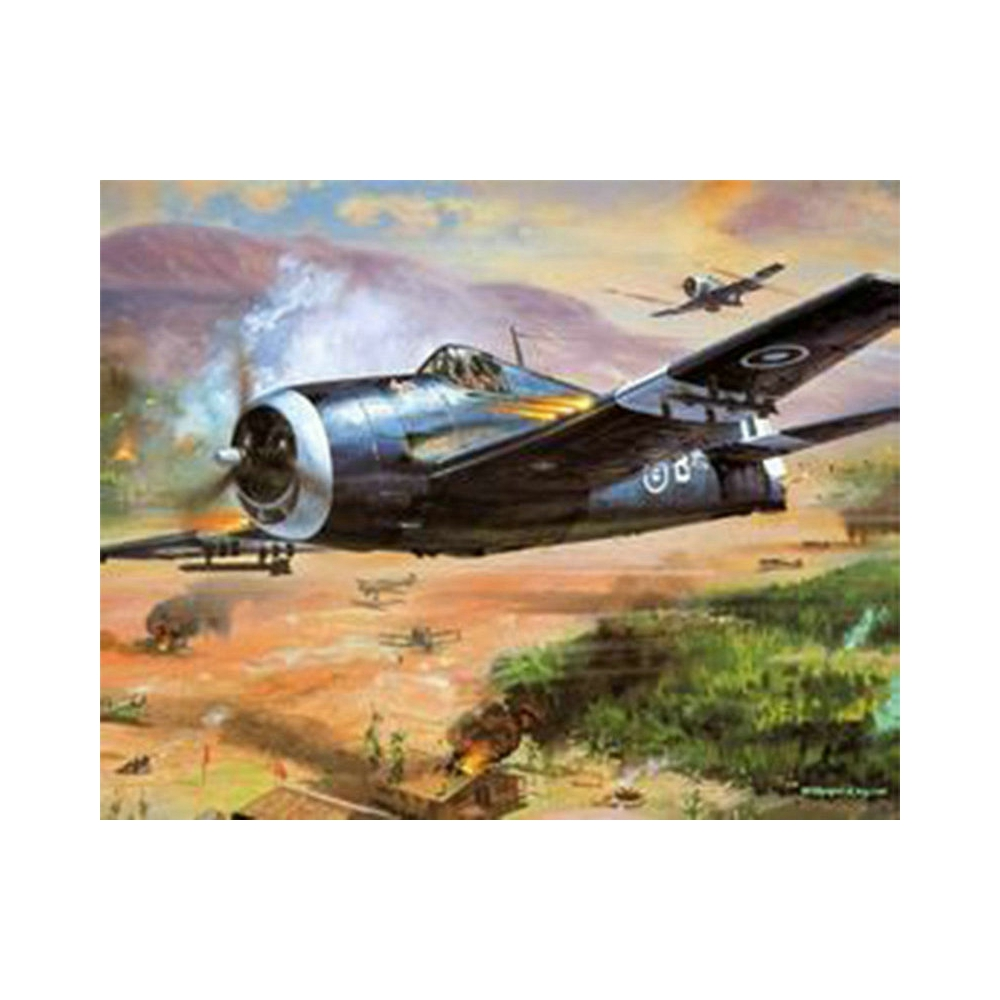 5D DIY Diamond Embroidery War plane Diamond Painting scenery Cross Stitch Suite Full square, round Mosaic Decoration BV666
