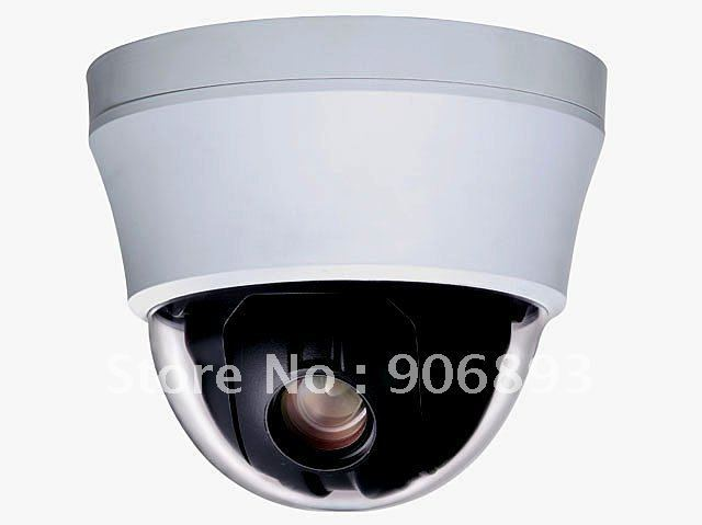 "4""  Mini  High  Speed Dome Camera , Vandal proof , 1/4"" Sony CCD ,480/700 TVL,3.8~38mm 10X optical Zoom Lens,Auto Focus"