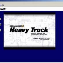 Диагностическое программное обеспечение mitchell для тяжелых грузовиков на cd