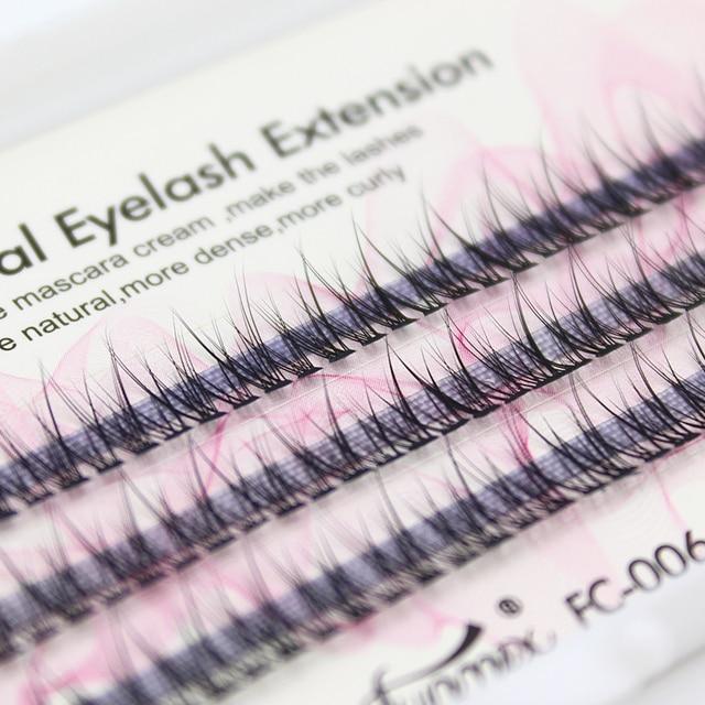 Professional silk eyelashes extension Fashion dovetail fly eyelash false eye lashes 1