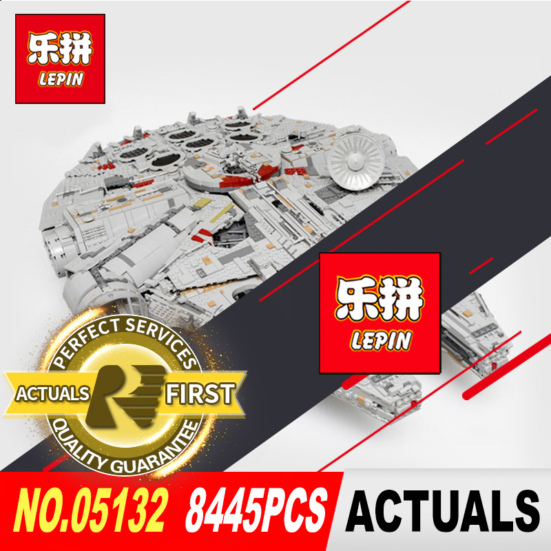 NEW LEPIN 05132 8445Pcs Star Series Wars the Ultimate Collector's Model Destroyer Building Blocks Bricks Toy model 75192 lepin 05132 star series wars new ultimate collector s model destroyer building blocks bricks children toys 8445pcs gifts 75192