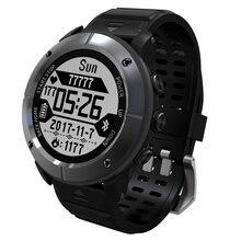 2018 UW80C Смарт-часы gps IP68 200 метров Водонепроницаемый плавание монитор сердечного ритма погоду прогнозный термометр Смарт наручные часы