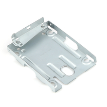 Gaming Console Super Slim Hard Disk Drive Mounting Bracket Internal HDD Metal Mount Case For Sony PS3 + Screws OD#S