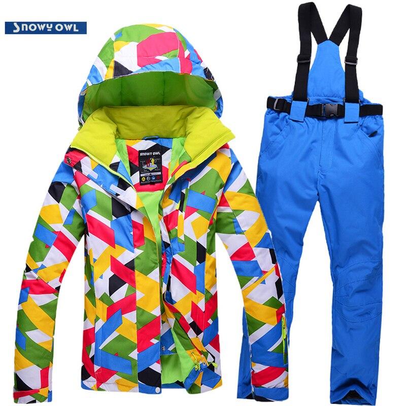 nueva mujer traje de esquí al aire libre a prueba de viento chaqueta impermeabl
