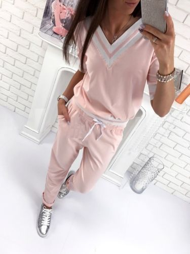 Hot Fashion Women Hoodie Sweatshirt Pants Set 2Pcs Casual Suit Cotton Blend Tracksuit Pullover Women Sets