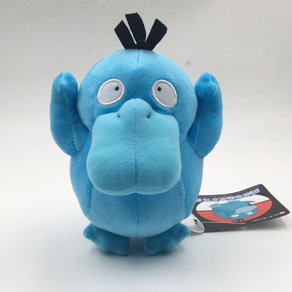 15cm Anime Cartoon Psyduck Plush Doll Toys Cute Animal Blue Duck Soft Stuffed For Children Gift