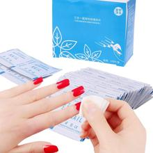 100Pcs/Lot  Nail UV Gel Polish Remover Wraps Pads Manicure Tools Wet Wipes Paper Pads Foil Nail Art Cleaner