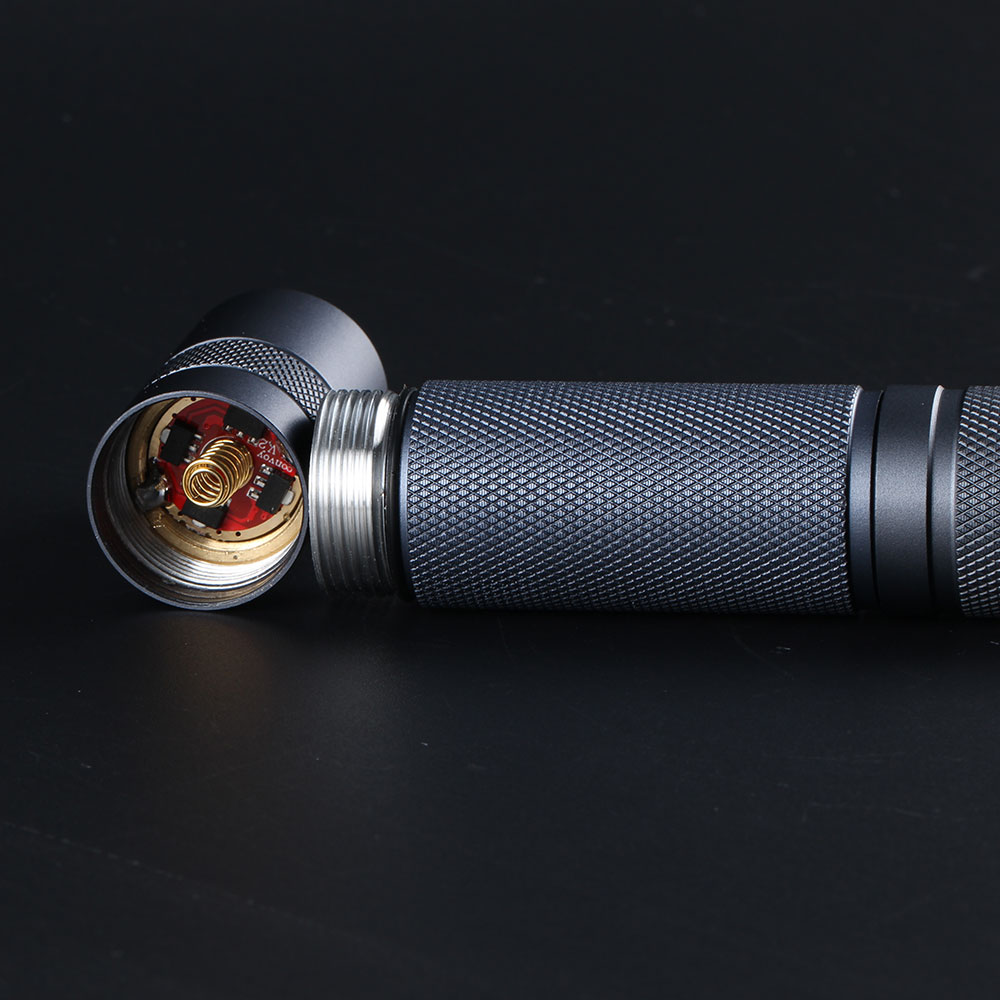 Image 3 - Gray Convoy S2+ with luminus SST20,DTP copper plate,ar coated glass lens,7135 biscotti firmware-in Flashlights & Torches from Lights & Lighting