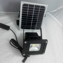 10 Вт Солнечный свет с 2 м шнуры выключатель света кемпинга с коммутатором приглушить 4-12hours IP65 Солнечный свет led прожектор