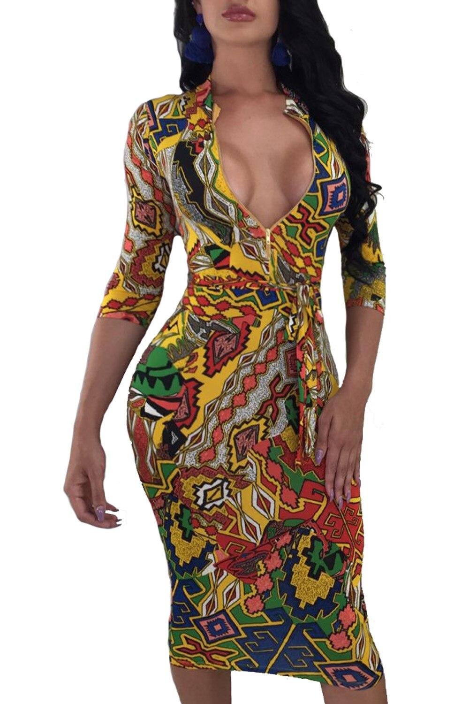 महिला प्लस आकार डीप वी - महिलाओं के कपड़े