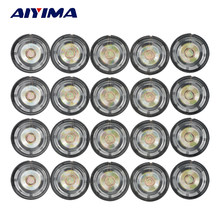 AIYIMA 20Pcs Mini Audio Portable Speakers 0.25W 8Ohm Speaker External Magnetic Speaker 21/27/29mm DIY For Toys(China)