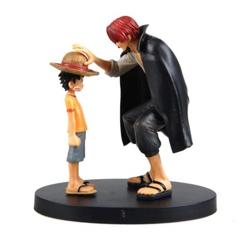 One Piece action figures Anime Straw Hat Luffy Shanks | 17.5cm