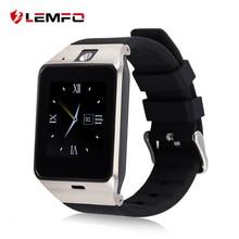 Lemfo gv18 smart watch clocksupport sim tf cartão de conectividade bluetooth para celular com android(China (Mainland))