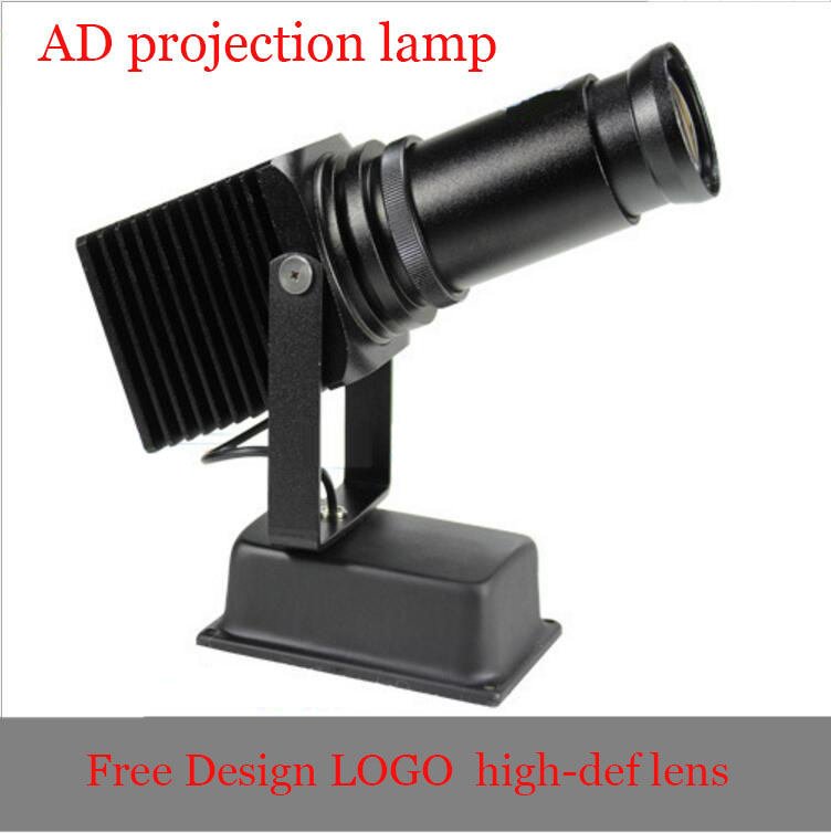 50w Led Hd Advertising Projecting Lamp,Free Design Lens  Multi Functional Style ,Freeshipping