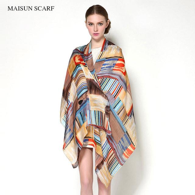 180X70 cm Floral Impresión Larga de Seda Pura Bufandas Diseñador de Moda Marca Mujeres Chal Bufanda de Seda de la Nueva Llegada De mujeres