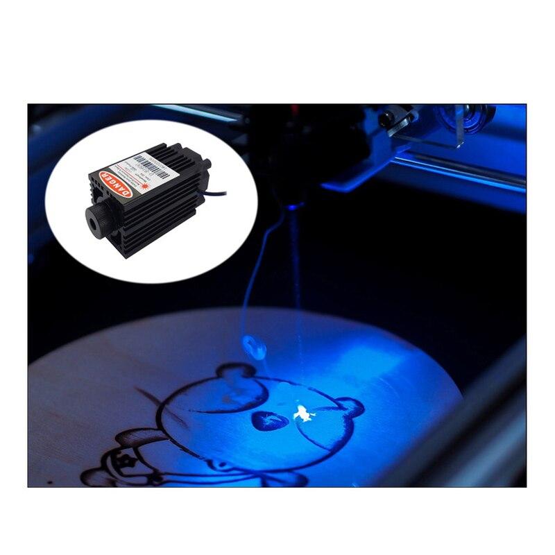 Dyue Laser Diodo 3.5 W diodo laser di taglio blu 445nm ad alta potenza regolabile testa laser FAI DA TE incisione laser con il driver bordoDyue Laser Diodo 3.5 W diodo laser di taglio blu 445nm ad alta potenza regolabile testa laser FAI DA TE incisione laser con il driver bordo