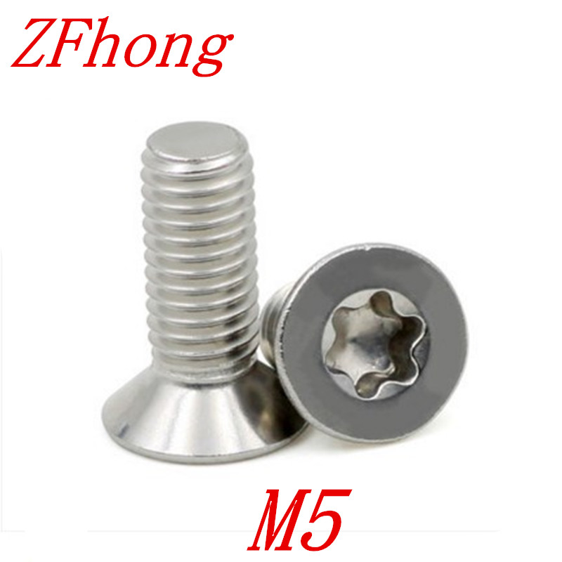 50pcs M5*6/8/10/12/16/20/25/30mm stainless steel flat head torx machine screw 5 10 355 mm flat head carbon rod copper coated for arc air gouging 50pcs