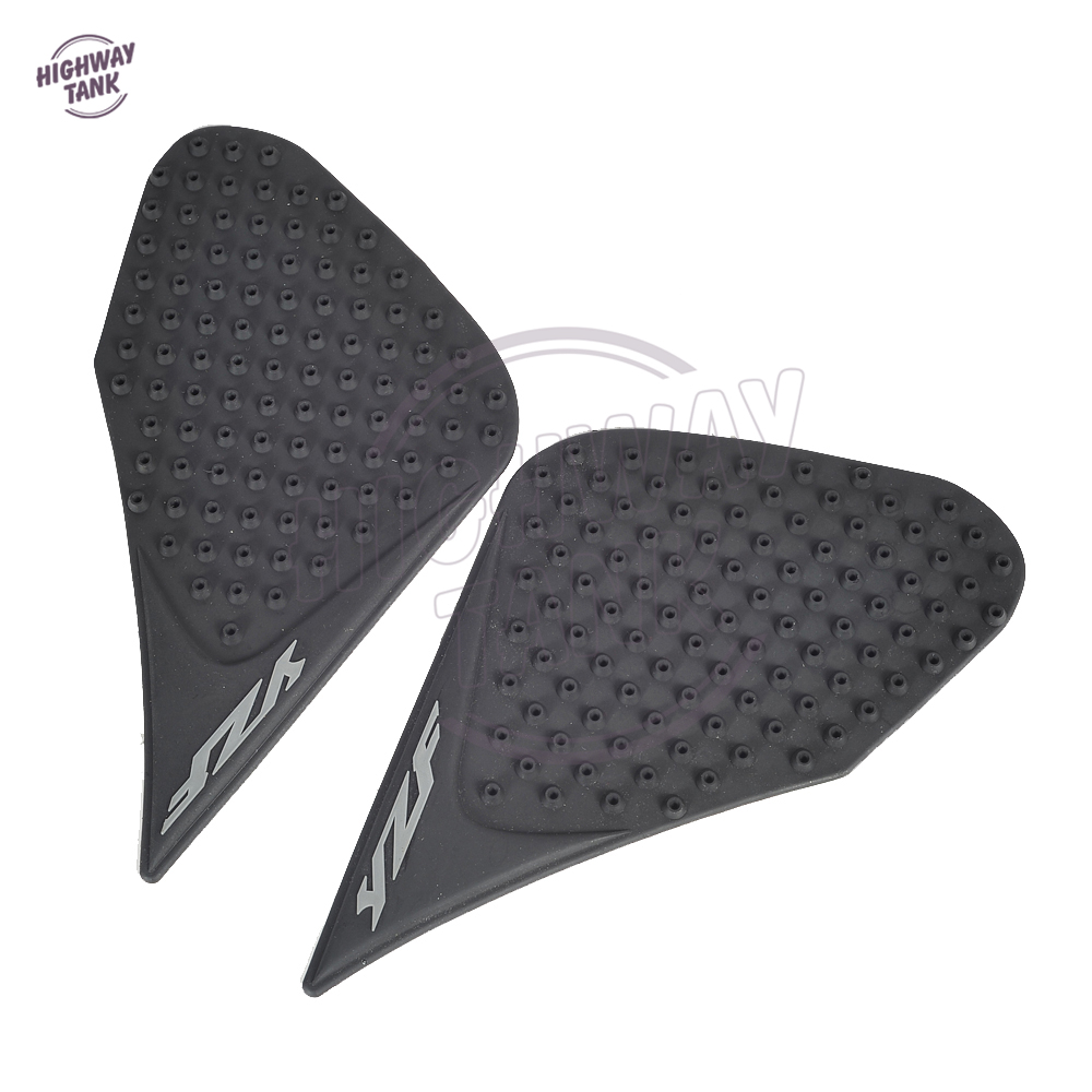 Motorcycle Accessories & Parts 2 Pcs Side Knee Grip Protector Sticker Motorcycle Tank Pad Traction Anti Slip Decal For Yamaha Yzf-r15 Yzf R15 Stickers Moto Motorbike Accessories
