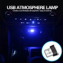 Новый стиль Автомобильная светодиодсветодиодный USB атмосферная лампа для Toyota Corolla Avensis Yaris Rav4 Auris Hilux Prius Prado Camry 40 Celica Fortuner