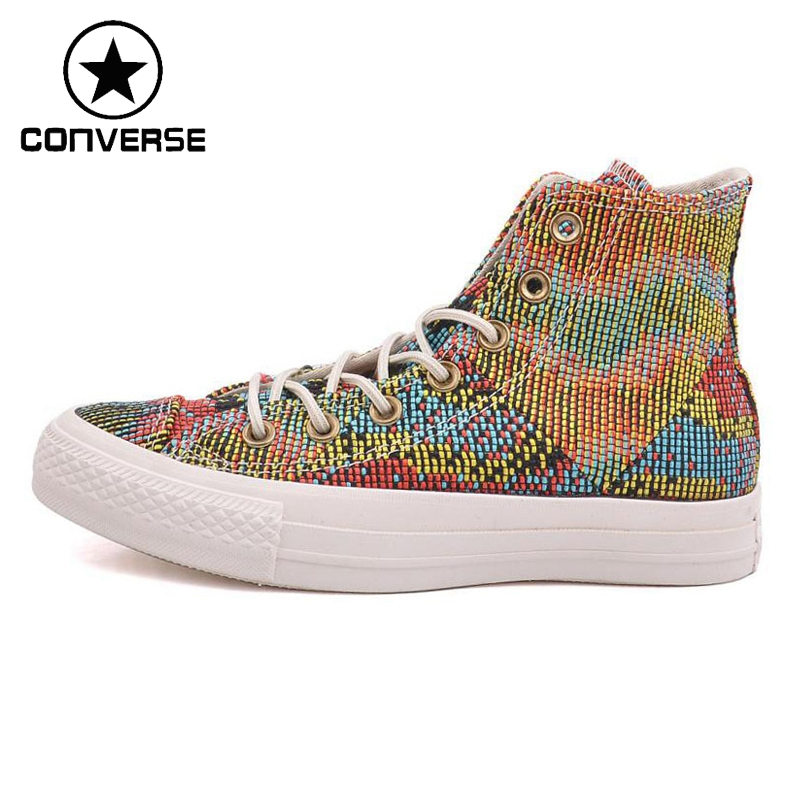 ФОТО Original Converse Women's Skateboarding Shoes Canvas Sneakers