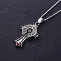 New style Fashion Jewelry Neutral Charm Zinc Alloy Luxury Men Long Cross Necklaces &  Pendants for Women and Girl Best Gift 0236