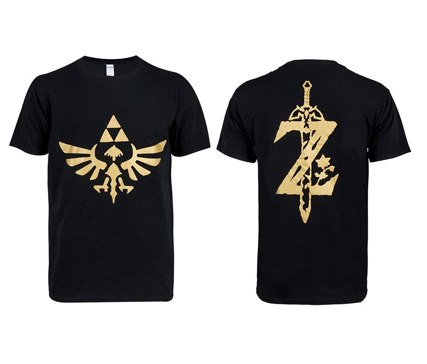 Anime The Legend of Zelda T-shirt Cosplay Costume Halloween T shirt Short Sleeve T-shirt Tops