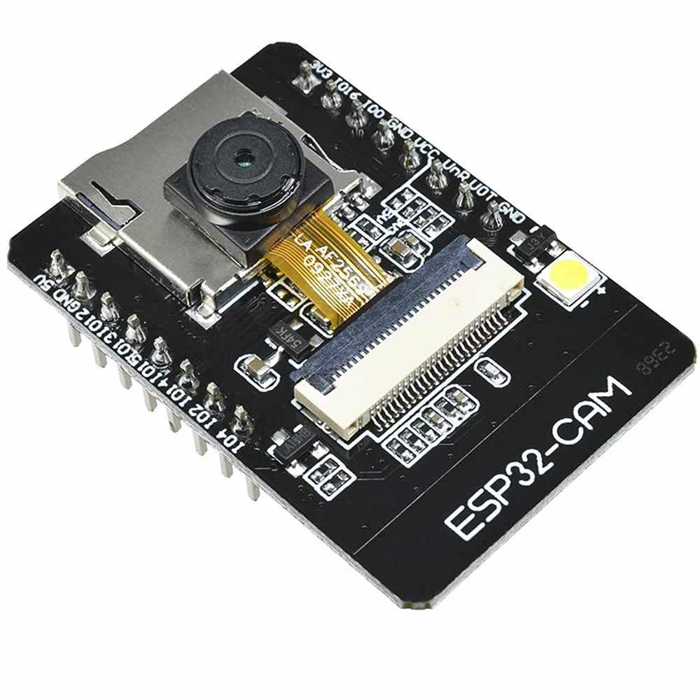 ESP32 ESP32-CAM Módulo Placa de Desenvolvimento Do Módulo Da Câmera com Câmera WiFi + Bluetooth Módulo OV2640 2MP