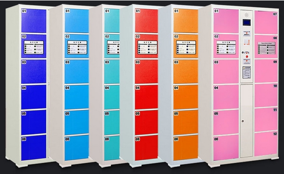 Electronic Smart Password Bar Code Fingerprint Locker Control Board Electronic Supermarket Goods Save Lockers Cabinets