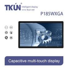 TKUN p185wxga 18.5-дюймовый емкостный сенсорный дисплей, сенсорный монитор, промышленных сенсорный экран