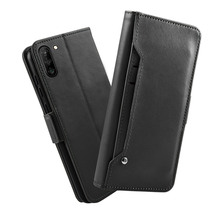 for Samsung Galaxy Note 10 Case Separable Leather Flip Stand Slim Magnetic Wallet Cover with Card Slot for Samsung Note 10 plus стоимость