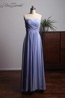 Vestidos Longos Простой Элегантный Лаванды Выпускные платья Длинные Возлюбленной Шифоновое Вечернее торжественное платье для Для женщин