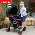 Pouch luz bebê carrinho de criança do guarda-chuva dobrável carro bb carro do bebê portátil two-way
