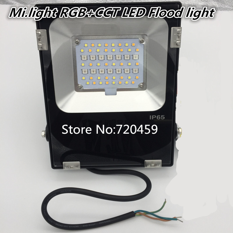 AC86-265V Milight 10W/20W/30W/50W RGB+CCT LED Flood light IP65 Waterproof LED Flood Light Outdoor Lighting зимняя шина nokian hakkapeliitta 8 suv 265 50 r20 111t